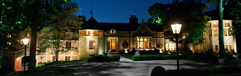 Chestnut Hall Estate at Night